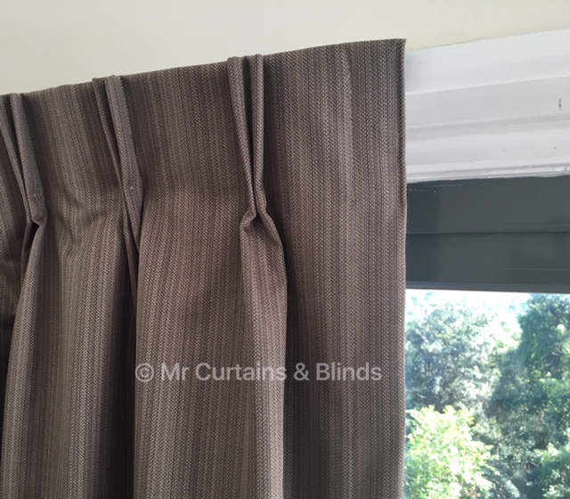 Double Pinch Pleat Curtains East Gosford