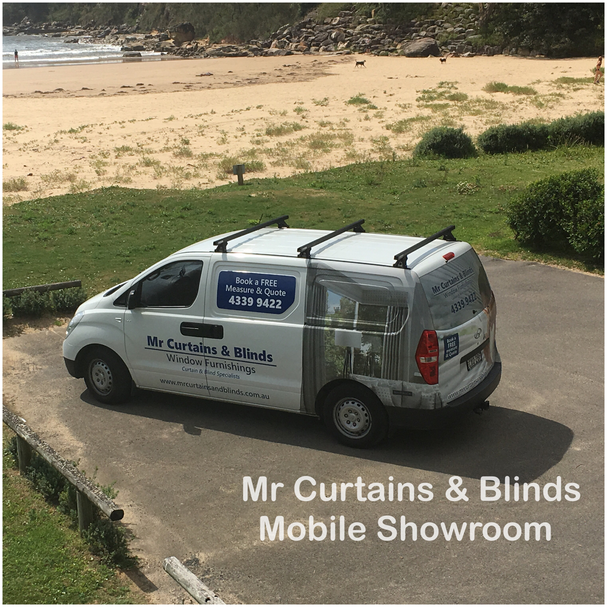 Mr Curtains and Blinds Central Coast Mobile Showroom