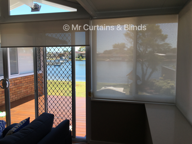 Screen roller blinds Saint Huberts Island