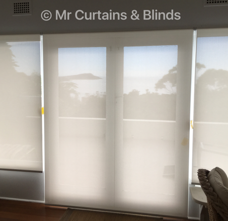 Screen roller blinds overlooking Terrigal