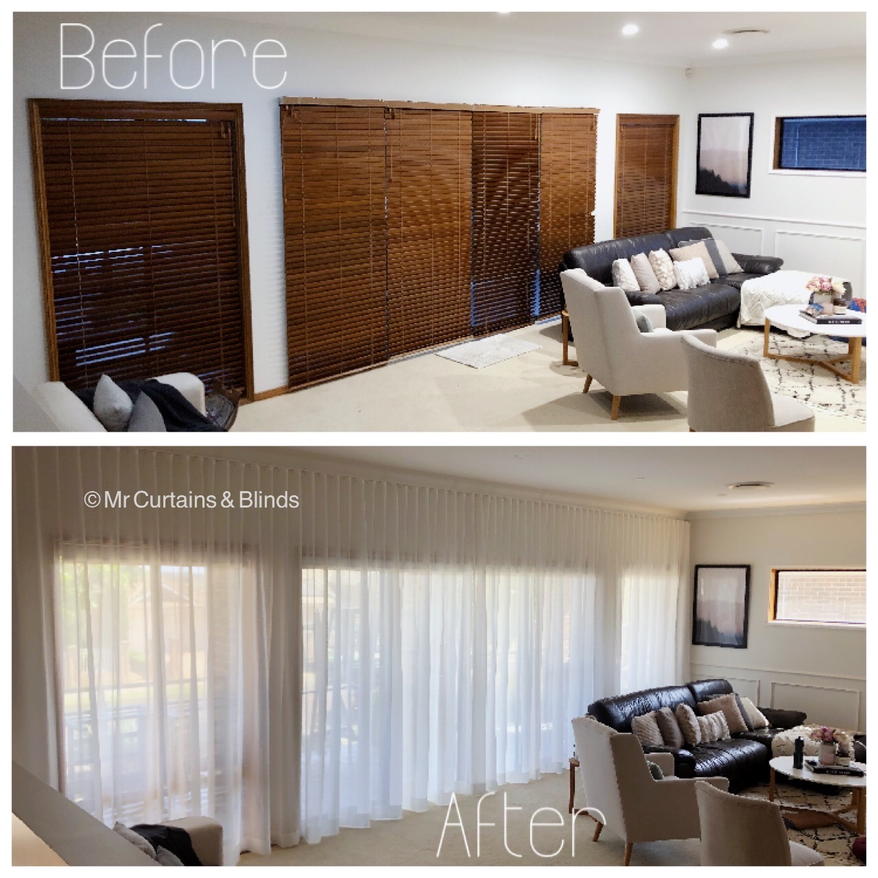 Sfold Seattle Sheer Curtains and Blockout Blinds Mr Curtains and Blinds Central Coast