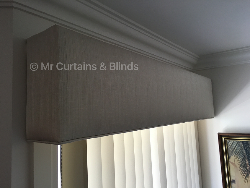 Vertical blind with Pelmet Umina Beach home