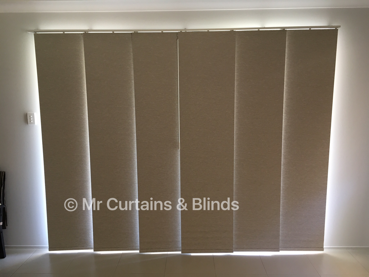 Blockout Panel Blinds East Gosford home