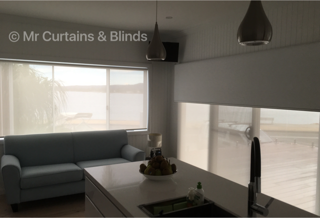 Day Night Double Roller Blinds Saratoga Central Coast
