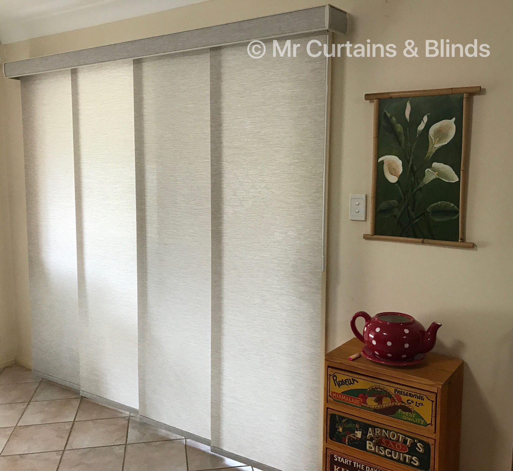 Translucent Panel Blind Umina Home
