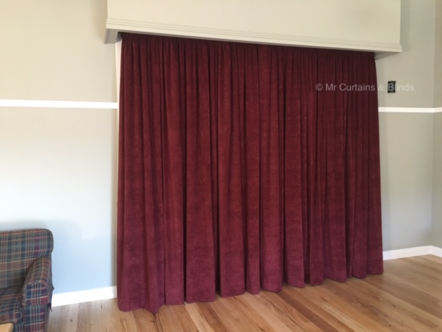 Reception Centre Curtains Yarramalong