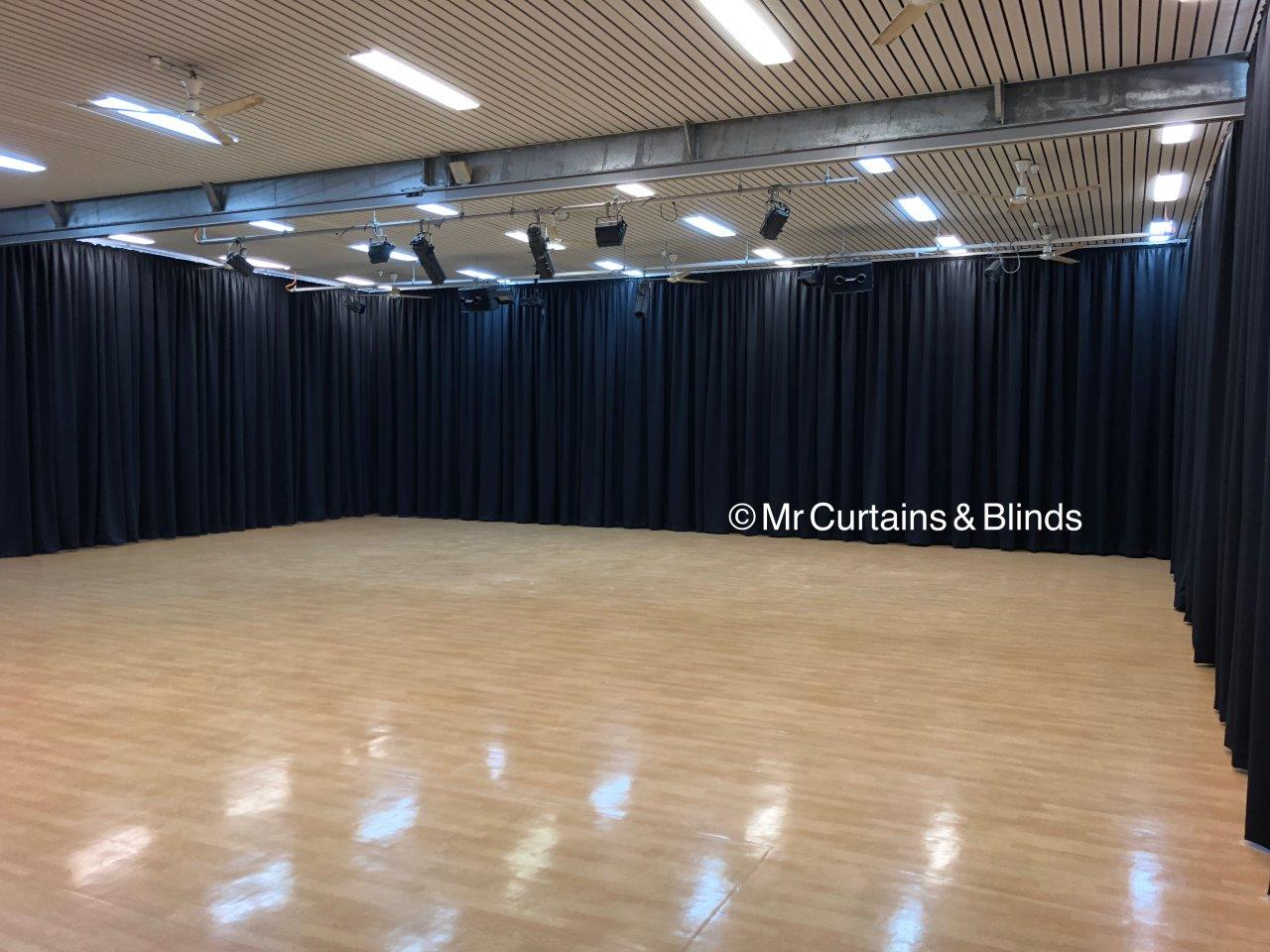 Stage Curtains Dance and Drama School Hall Central Coast
