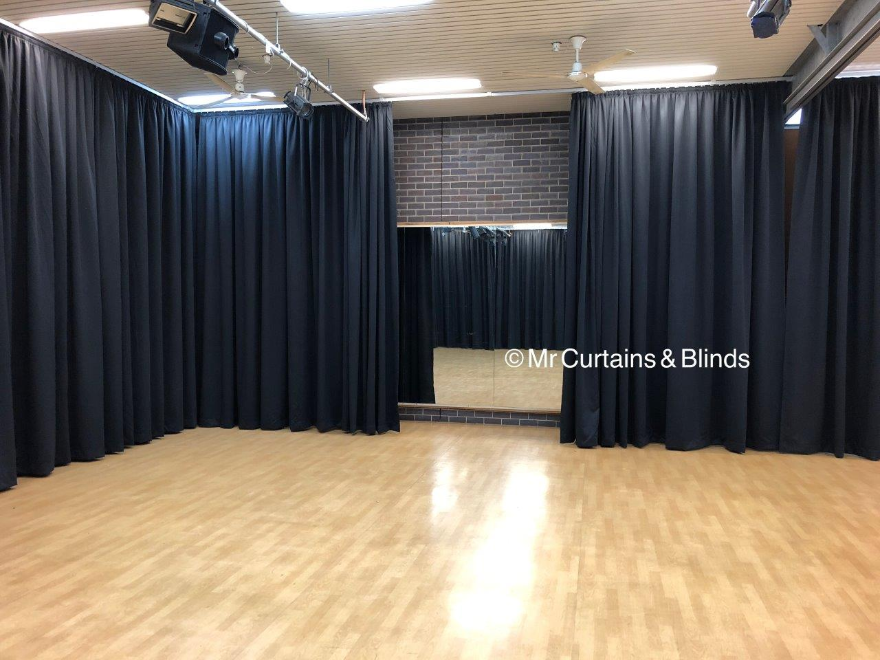 Stage Curtains Dance and Drama School Hall Central Coast2