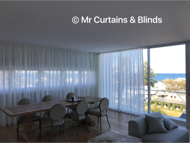 Sheer curtains North Avoca Charles Parsons Capri